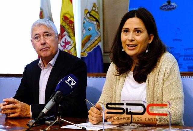 Presentación superdeportivos Cantabria