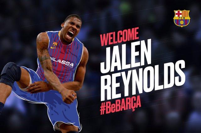 El Barça Lassa se refuerza con el pívot Jalen Reynolds