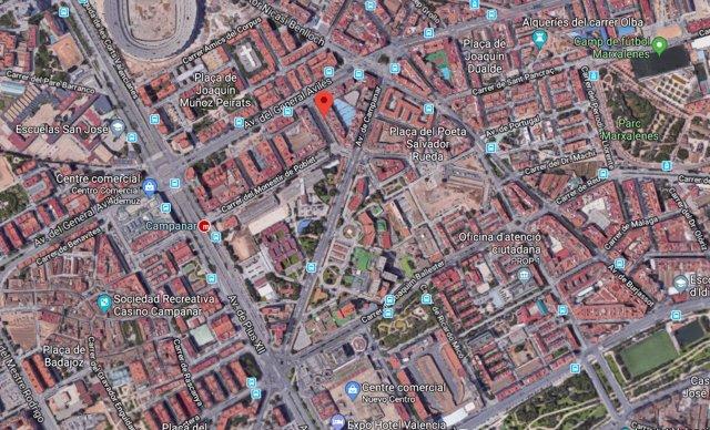 Calle Conchita Piquer de València, en Campanar