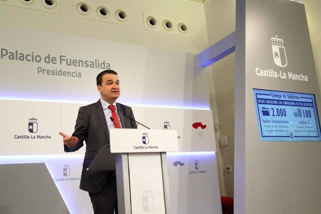 Martínez Arroyo en rueda de prensa
