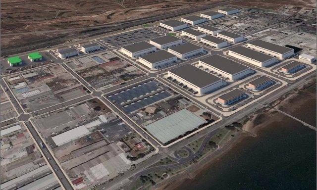 Proyecto de la nueva Zona de Actividades Logísticas del puerto de Huelva.