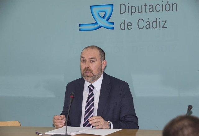 El diputado provincial, Jesús Solís