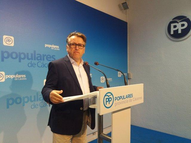 Víctor del Moral, diputado del PP