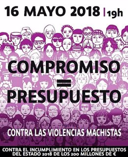 Manifestación 16 de mayo contra violencias machistas