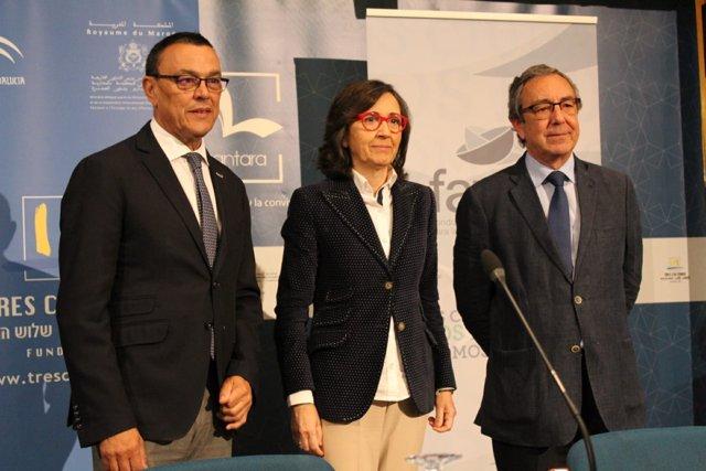 Rosa Aguilar inaugura las Jonadas: 'Andalucía Integradora'