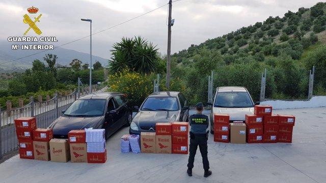 4 Detenidos Tabaco La Linea