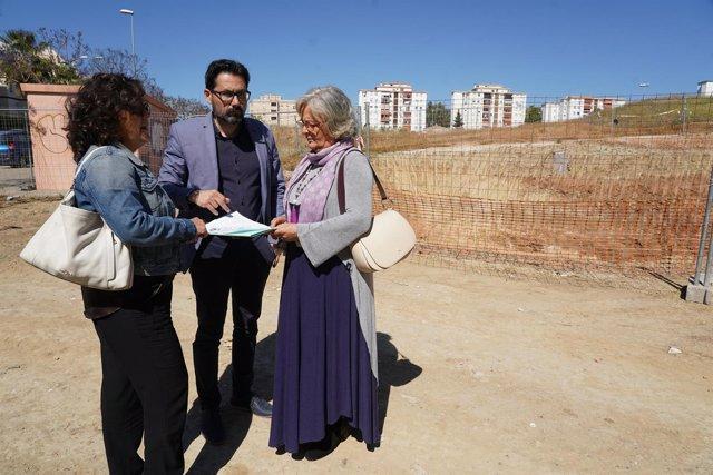Proyecto de Obras de las Morillas visitada por Porras y Pomares