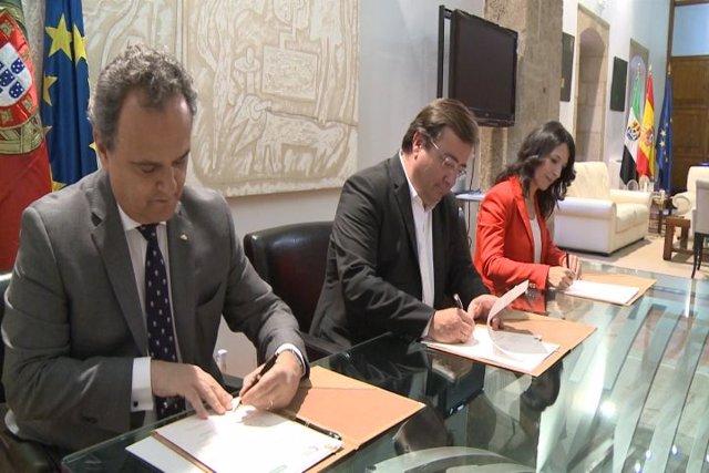 Junta y Portugal renuevan memorándum para consolidar el estudio del portugués