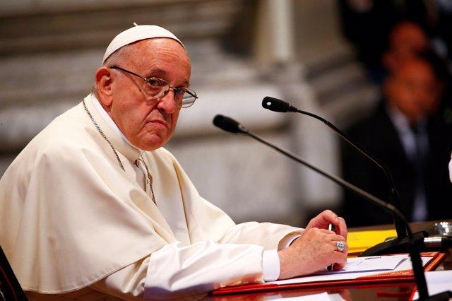 Foto de archivo del Papa