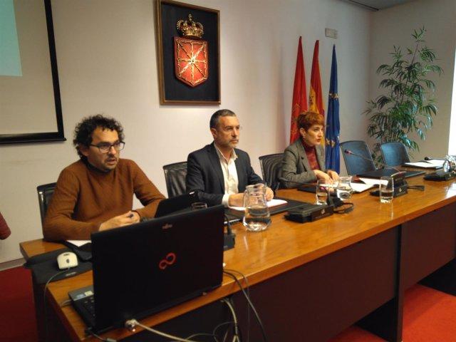 Miguel Laparra, en comisión parlamentaria