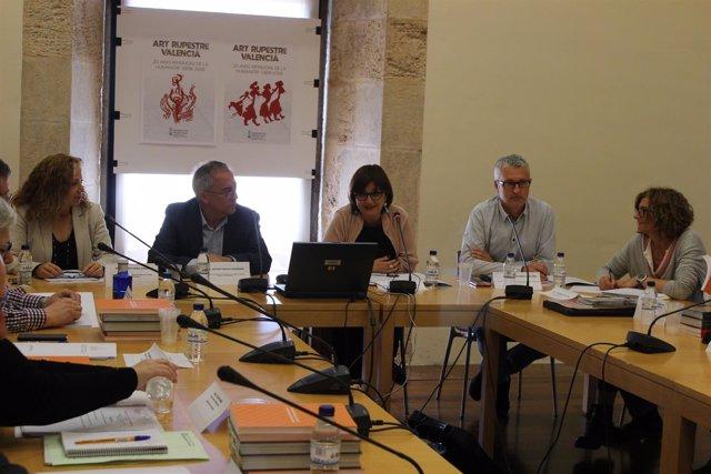Reunión del Consejo de Arte Rupestre