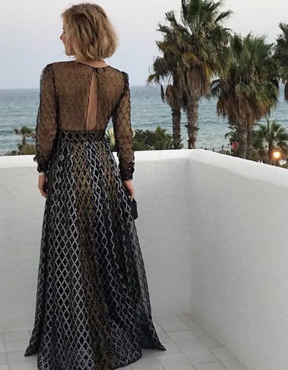 Eugenia Martínez de Irujo con el mismo vestido que llevó Amaia en Eurovisió
