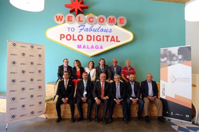 Presentación de Cátedras en el Polo Digital