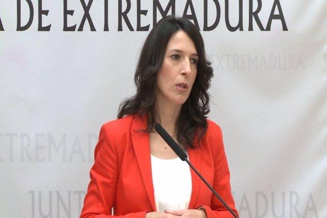 Consejera de Educación, Esther Gutiérrez