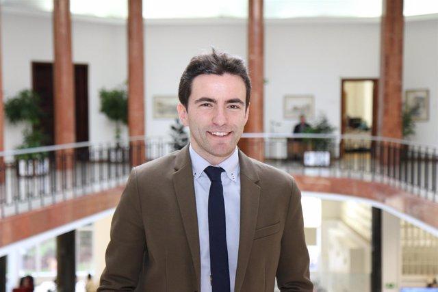 Pedro Casares, concejal del PSOE en el Ayuntamiento de Santander