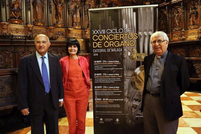 Tecla lumbreras, dean de la catedral Antonio Aguilera y Adalberto Martínez