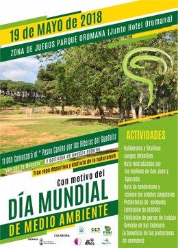 Cartel de las actividades del Día Mundial del Medio Ambiente en Alcalá