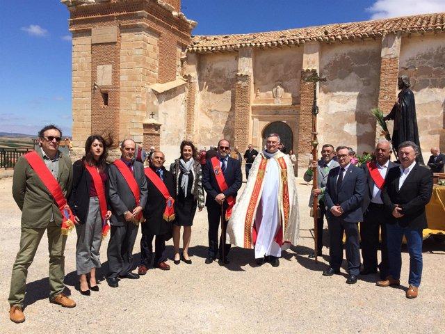 Celebración de San Isidro en Muniesa, Teruel.