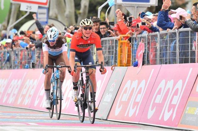 Mohoric gana el pulso a Denz en el Giro
