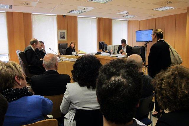 Gerente del PP cántabro, Jesusa Sánchez, en el juicio