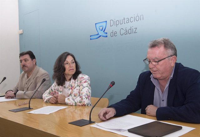 La vicepresidenta de Diputación, Maribel Peinado
