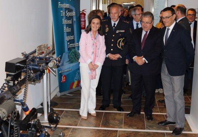 El ministro del Interior, Juan Ignacio Zoido, en Huelva.