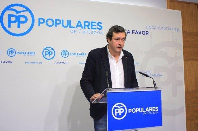 El portavoz del PP, Iñigo Fernández
