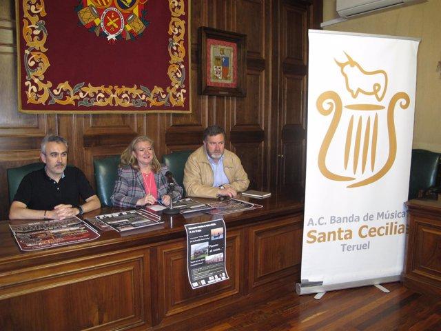 Presentación del Intercambio Escuelas Música Unesco en Teruel