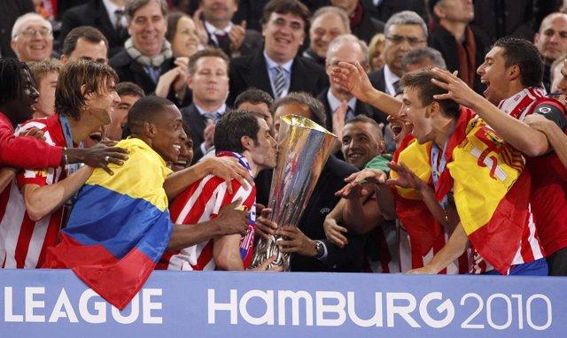 Atlético De Madrid, Campeón Europa League 2010