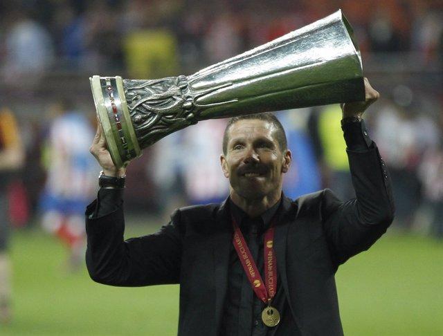 Diego Pablo Simeone Atlético Europa League Liga Europa