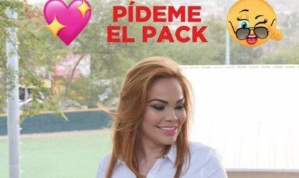 La candidata del PRI en Culiacán, Paola Garate, ofrece su 'pack' por WhatsApp y las redes la critican duramente
