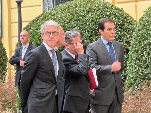 Juan Antonio Puigserver, Enric Millo y Juan Antonio Nieto