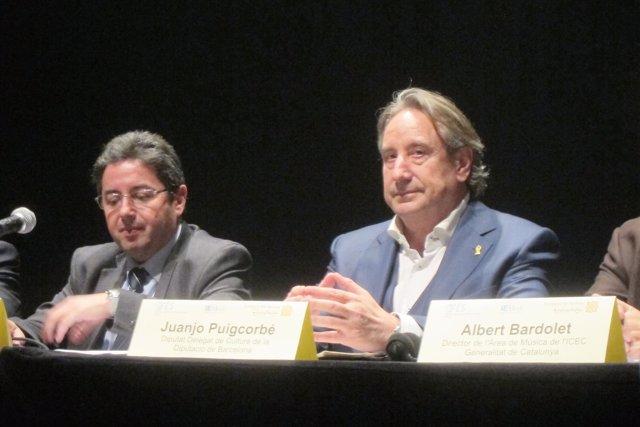 Mohammed Chaïb y Juanjo Puigcorbé