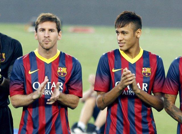 El Gamper de Messi y Neymar