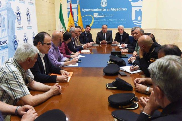 Mesa Técncia de Seguridad de Algeciras