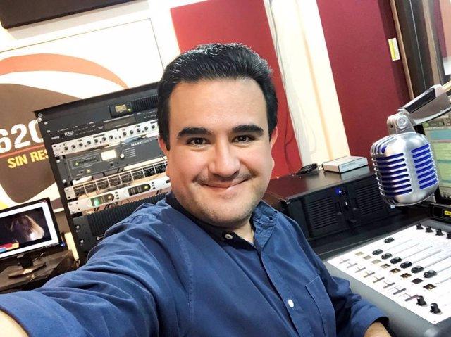 El periodista mexicano Juan Carlos Huerta Gutiérrez.