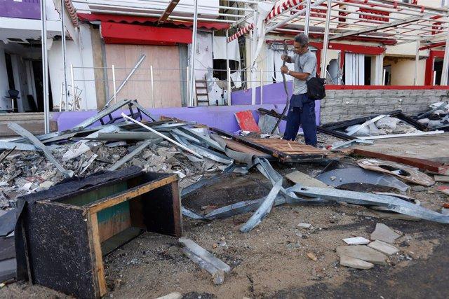 Daños por el huracán 'Irma' en La Habana