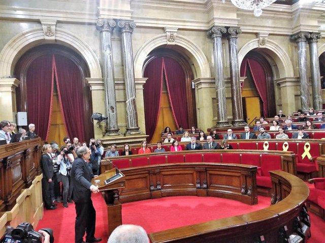 Discurso de Quim Torra tras ser investido presidente de la Generalitat