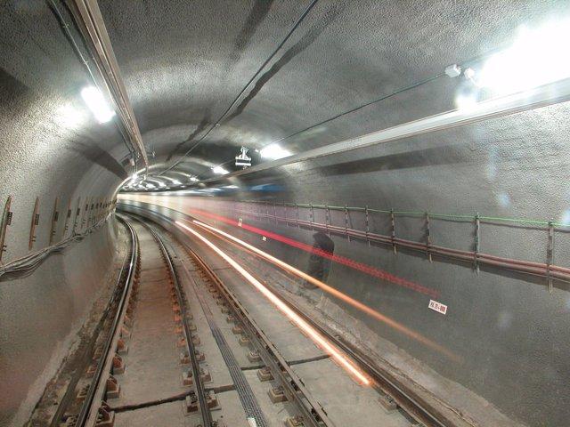 Túnel de Metro de Madrid