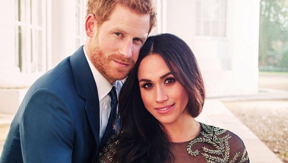 Foto oficial compromiso Meghan y Harry