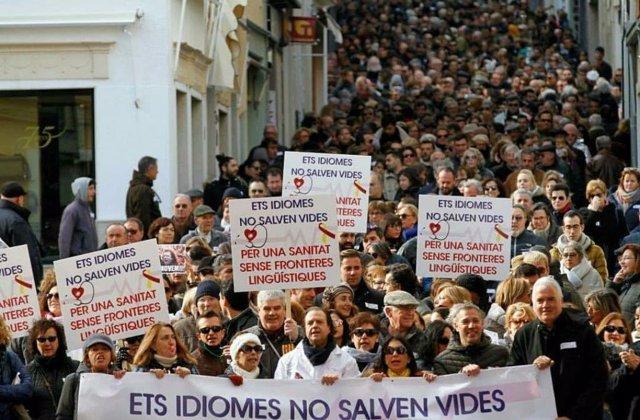 Plataforma 'Mos Movem', requisito catalán en sanidad