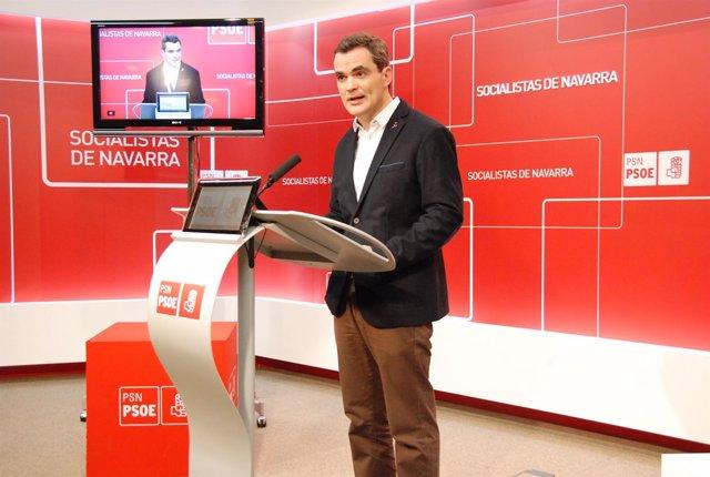 El parlamentario del PSN, Guzmán Garmendia
