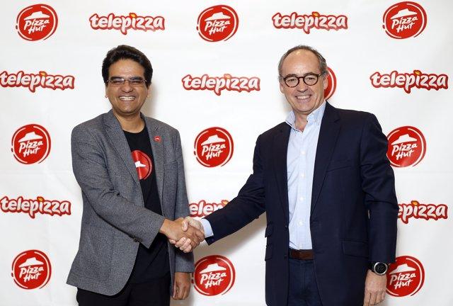 Aliança entre Pizza Hut i Telepizza