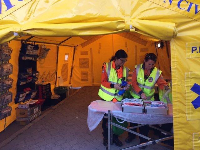 El Samur-Protección Civil Atendió Desde El Viernes A 251 Personas.