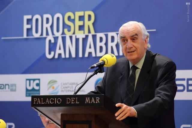 Marcos Peña en el Foro SER Cantabria