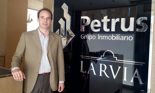El vicepresidente ejecutivo de Petrus Grupo Inmobiliario, Luis Rabassa
