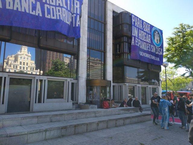Desalojo en Hogar Social Madrid