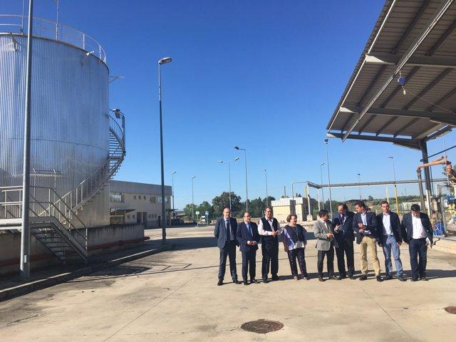 Visita a la empresa Linares Biodiésel Technology