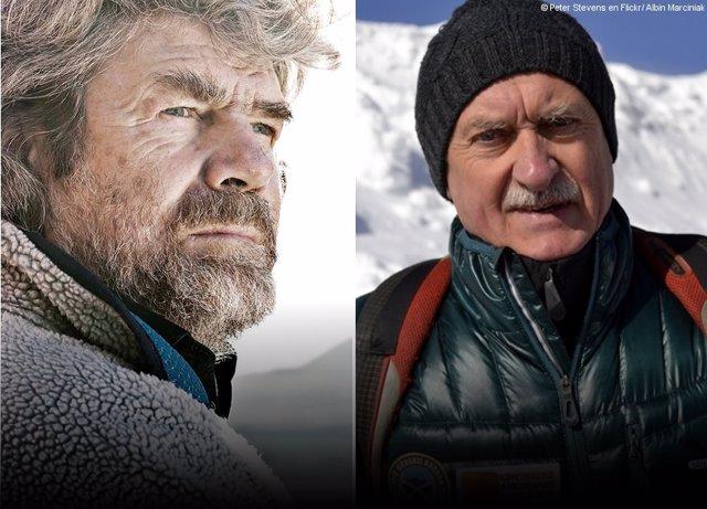 Reinhold Messner i Krzysztof Wielicki
