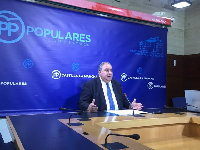 Secretario regional PP, Vicente Tirado
